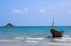 Local fishing boats. In Thailand Royalty Free Stock Photos