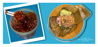 Local food Northern of Thailand Stock Photo