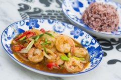 Local food of Phuket in restaurant Royalty Free Stock Photos