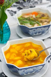 Local food of Phuket in restaurant stock photos
