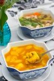 Local food of Phuket in restaurant Stock Photos