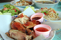 Local food of Thailand Royalty Free Stock Photography