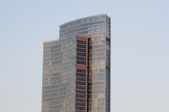 Local governement tower. The local governement tower lowlights milan Royalty Free Stock Photography