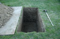 Local grave 2 Imagem de Stock Royalty Free