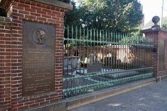 Local grave do ` s de Ben Franklin fotos de stock royalty free