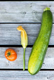 Local grown vegetables. Royalty Free Stock Photography
