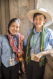 Local guides in Angkor Wat Royalty Free Stock Photo