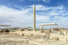 Local histórico 04 de Pasargad fotografia de stock