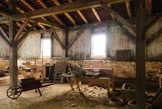 Local histórico nacional da fornalha de Hopewell Imagem de Stock