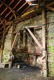Local histórico nacional da fornalha de Hopewell Foto de Stock