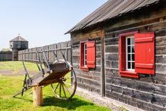 Local histórico nacional de Vancôver do forte Fotografia de Stock Royalty Free
