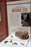 Local histórico que descobre a estufa de cal em milhão praias do dólar, indicadas no museu do estado, Albany, New York, 2016 Fotos de Stock Royalty Free