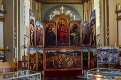 Local Historic Museum Church in Lanaken, Belgium