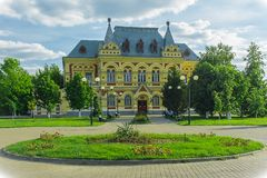 Local History Museum in Kamyshin, Russia. The Museum was opened in 1961. It was created at the expense of the local population. The Museum has 14 rooms, where stock photography