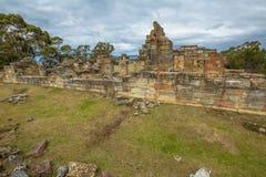 Local histórico de minas de carvão: Pilhas Tasmânia do condenado Imagem de Stock