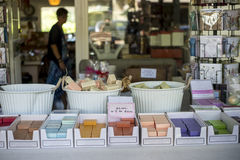 Local homemade soap royalty free stock image