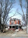 Local house in Atchison Kansas Stock Photo