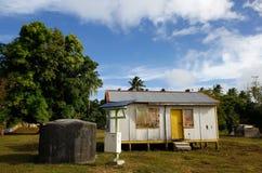 Local house on Ofu island,  Tonga Royalty Free Stock Photography