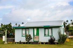 Local house on Ofu island,  Tonga Royalty Free Stock Image