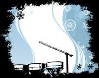Local industrial ilustração do vetor