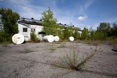 Local industrial abandonado Fotos de Stock Royalty Free