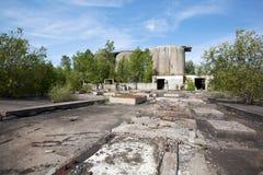Local industrial abandonado Foto de Stock Royalty Free