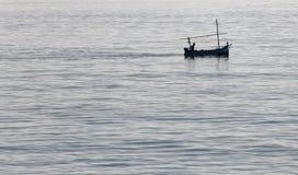 Local llaut watercraft in the island of mallorca Stock Photos