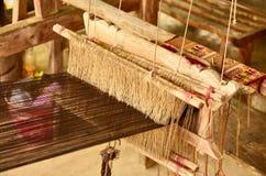 Local loom of Thai people Stock Image