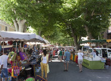Local maket in france Stock Image