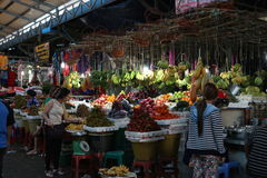 Local maket in Sihanoukville Royalty Free Stock Photos