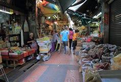 Local market Bangkok Thailand Royalty Free Stock Images