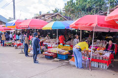 Local market. Royalty Free Stock Photography