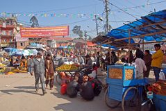 Local Market-Kathmandu Stock Images