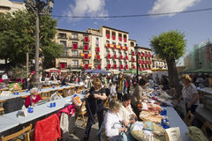 Local market in Toledo, Spain Stock Images