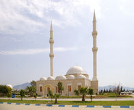 The local Mosque. A local Mosque in Turkey stock photo