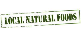 Local natural food Stock Images