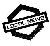 Local News rubber stamp Royalty Free Stock Photo