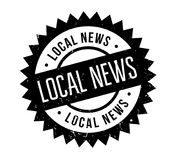 Local News rubber stamp Royalty Free Stock Photos