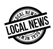 Local News rubber stamp Royalty Free Stock Images