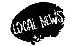 Local News rubber stamp Royalty Free Stock Image