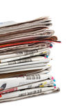 Local newspapers Royalty Free Stock Photo
