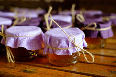 Local Oregon Honey Party Favors Royalty Free Stock Photo
