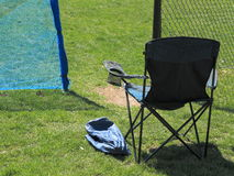Local Outdoor Sports Chair Royalty Free Stock Images