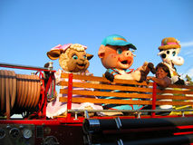 Local Parade Mascots, Los Angeles County Fair, Fairplex, Pomona, California Stock Photo