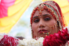 Free Local People During Traditional Indian Hindu Wedding. Stock Image - 86704421