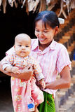 Local people in Myanmar Royalty Free Stock Images