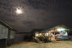 Local restaurant in a fisherman village, at Had Yao, Thailand Stock Images
