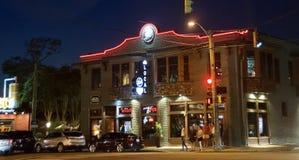 Local Restaurant at Overton Square, Memphis, TN Stock Image