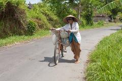 Local rice farmer Stock Photography