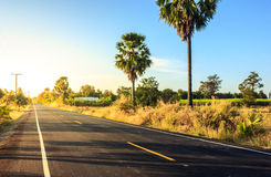 Local road adventure Royalty Free Stock Images